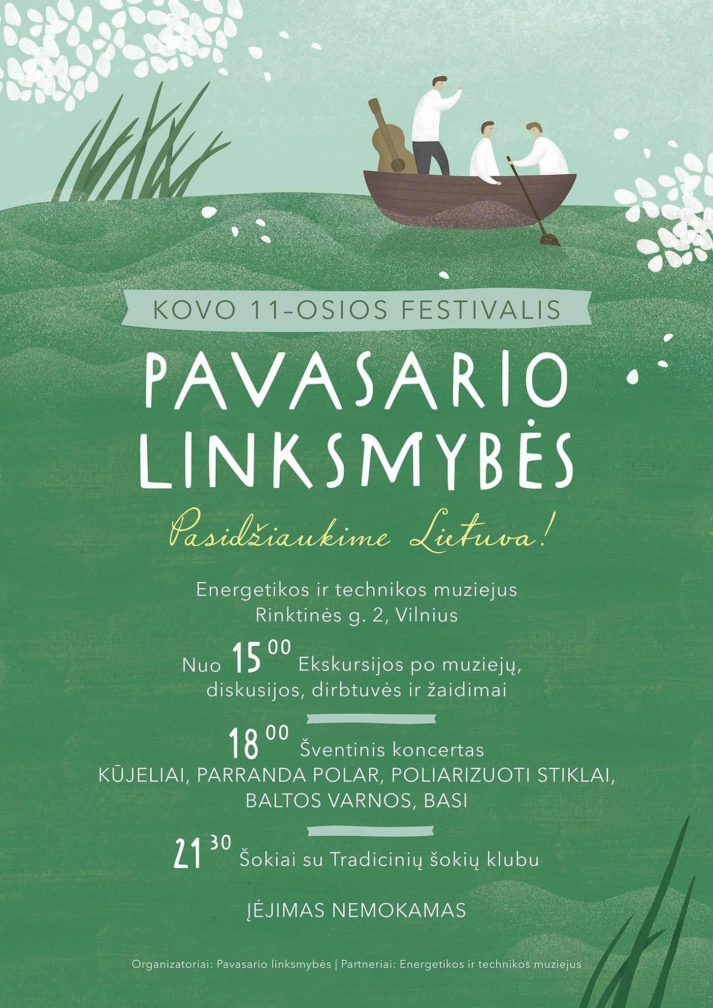 Kovo 11-osios festivalis Pavasario linksmybės